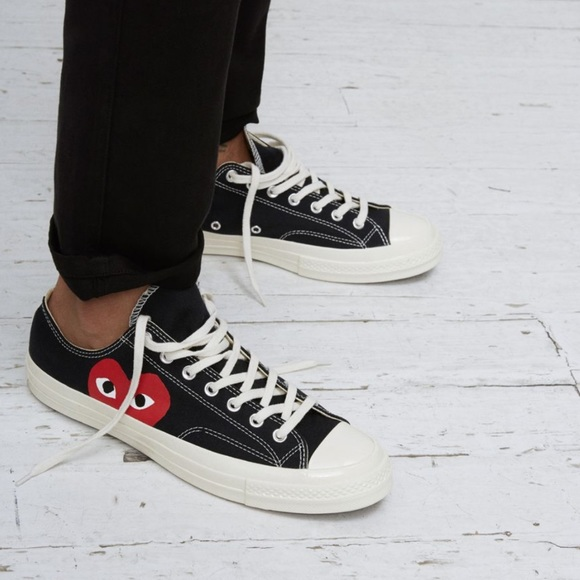 good texture great quality cheap prices Converse x Comme des Garçons PLAY Chuck 70 Low Top